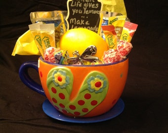 Fun Summertime Lemonade Basket