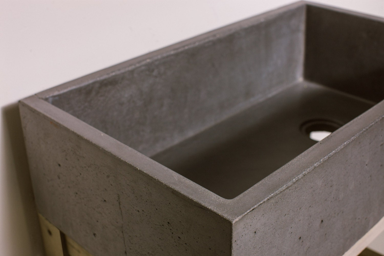 Concrete Farmhouse Kitchen Sink Basin From