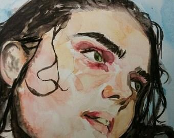 Gerard Way- Watercolor