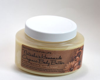 Large 8oz Natural Cocoa Body Butter