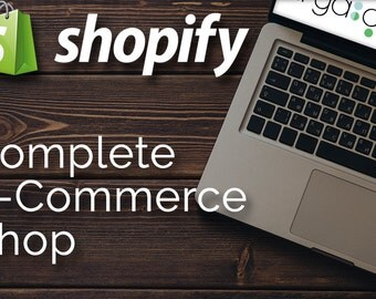 Complete E-commerce Shopify Website Design Package- including Facebook Store, Google Shopping, Wanelo Store, Pinterest Store, and SEO