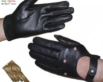 Men Leather Gloves (H252013)