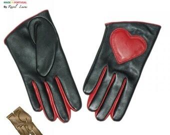 Ladies Leather Gloves (S802013)