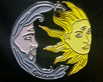 Infrasound Equinox 2015 Hat Pin Pair: By Cloudburn Collective