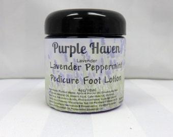 Lavender Peppermint Pedicure Foot Lotion