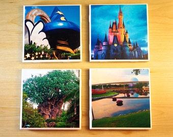 Coasters - Disney - 4 Set