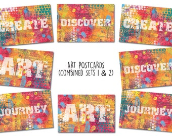 Art Postcards (Combined Set)