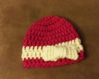 Girls Preemie Hat