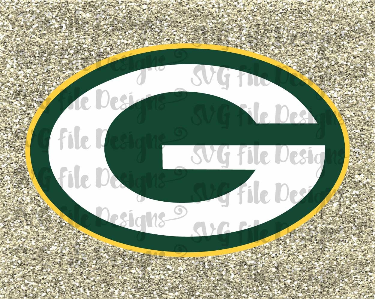 Green Bay Packers Logo Bead Necklace