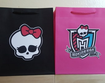 Monster High Favor Bags