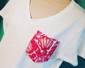 Lilly Pulitzer/  Sorority/ Pocket Tee/ made to order