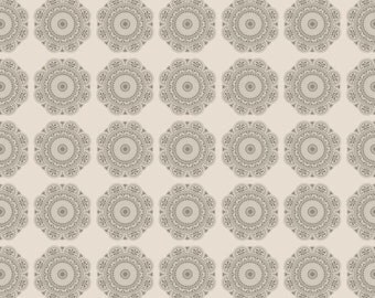 Lost and Found 2, Gray - Medallions,  1/2 Yard - My Mind's Eye for Riley Blake