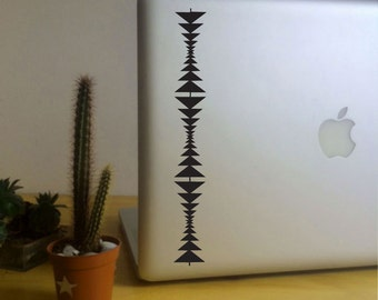 FUN STICKERS, native motif, laptop, auto decals