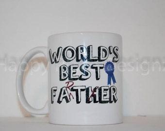 Coffee Mug, World's Best Father / Farter,   Funny Coffee Mug