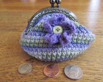 Crocheted Coin Purse