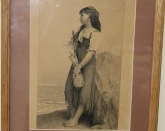 Gypsy vintage art