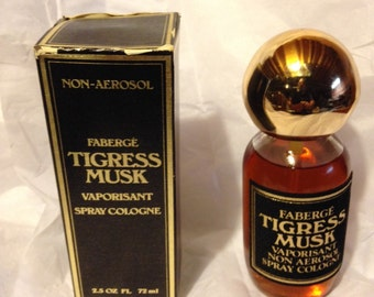 Faberge Tigress Musk Spray Cologne for Women