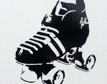 Roller Derby/ Skate Sticker/ Car Sticker Vinyl