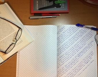 Kross Paper Slant-Ruled Notebook