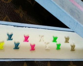 Handmade LV 3d acrylic Nail Charms