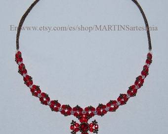 Visigoth necklace of red beads