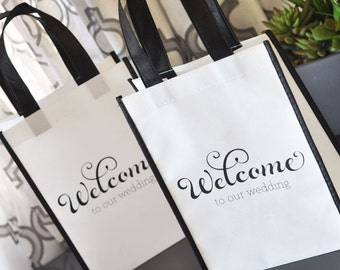 Wedding Welcome Bags, Destination Wedding Welcome Bags - 12 pieces