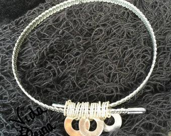 Recycled Wire Bracelet