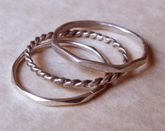 Ring // pack of three