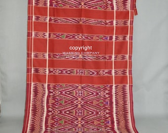 Kamban kain cepuk, textile for ceremonial  and ritual use.  South Bali Indonesia 1940s