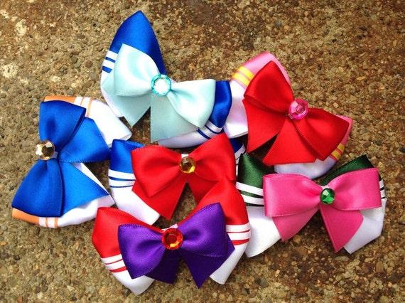 Sailor Scout Bows