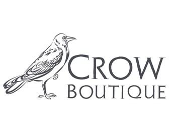 Crow logo etsy custom logo design crow logo design crow cusom logo bird logo photography sciox Choice Image