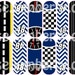 Jimmie Johnson Inspired Nail Wraps