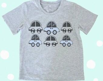 Car tshirt Toddlers tshirts kids shirt
