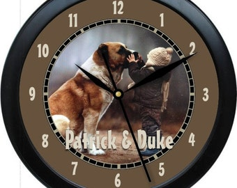 """Custom Personalized 10"""" Wall Clock With Your Photo, Logo or Art"""