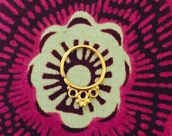 Grace Gold 16G Septum Ring
