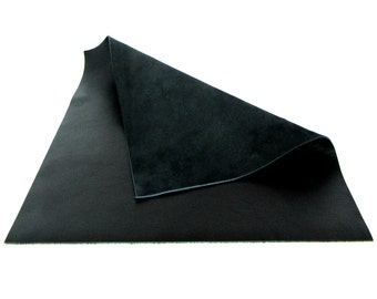 Black Leather / Pebbled Leather / Leather Supplies