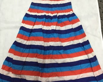 Vintage 1970s multi-colored sundress