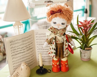Violinist (Doll sewing kit)