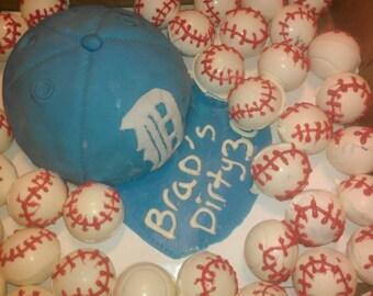 baseball cakepops