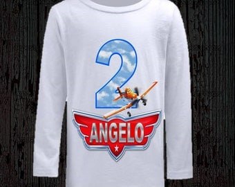 Disney Planes Birthday Shirt - Long and Short Sleeve Available