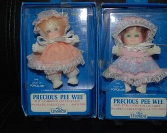 Vintage Uneeda Precious Pee Wee Dolls