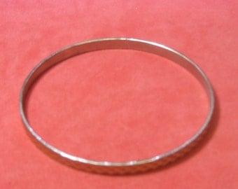 Vintage Bracelet silver gold tone outside
