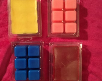 Set of two clamshell wax melts