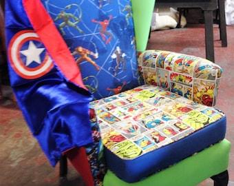 Custom made super hero chair