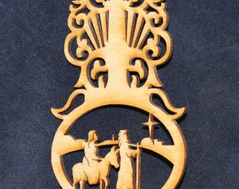 Bethlehem Ornament~Wood~Personalized FREE