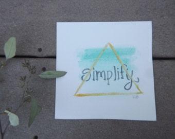 simplify painting