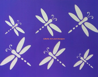 Assorted Dragonfly stencils *Free gift with every order*