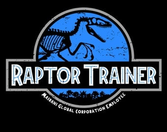 "KIDS ""Raptor Trainer"" Jurassic World T-shirt/Snapsuit"