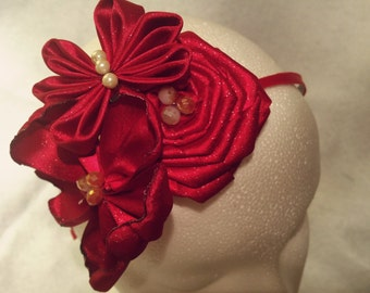 Kanzashi Flower and Butterfly