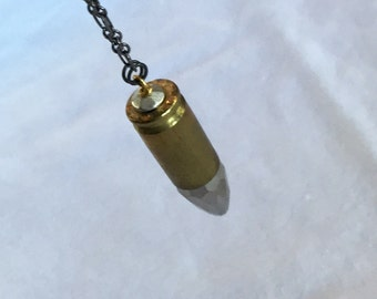 Long Crystal 9mm Necklace